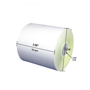 2 Ply Thermal Receipt Paper 76x76mm