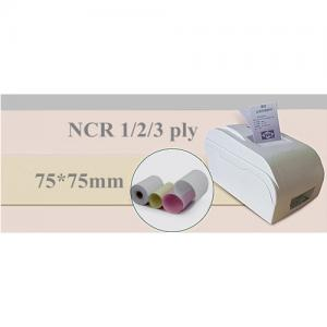 Wood Pulp NCR Cash Register Receipt Paper Roll