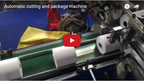 Automatic cutting and package machine
