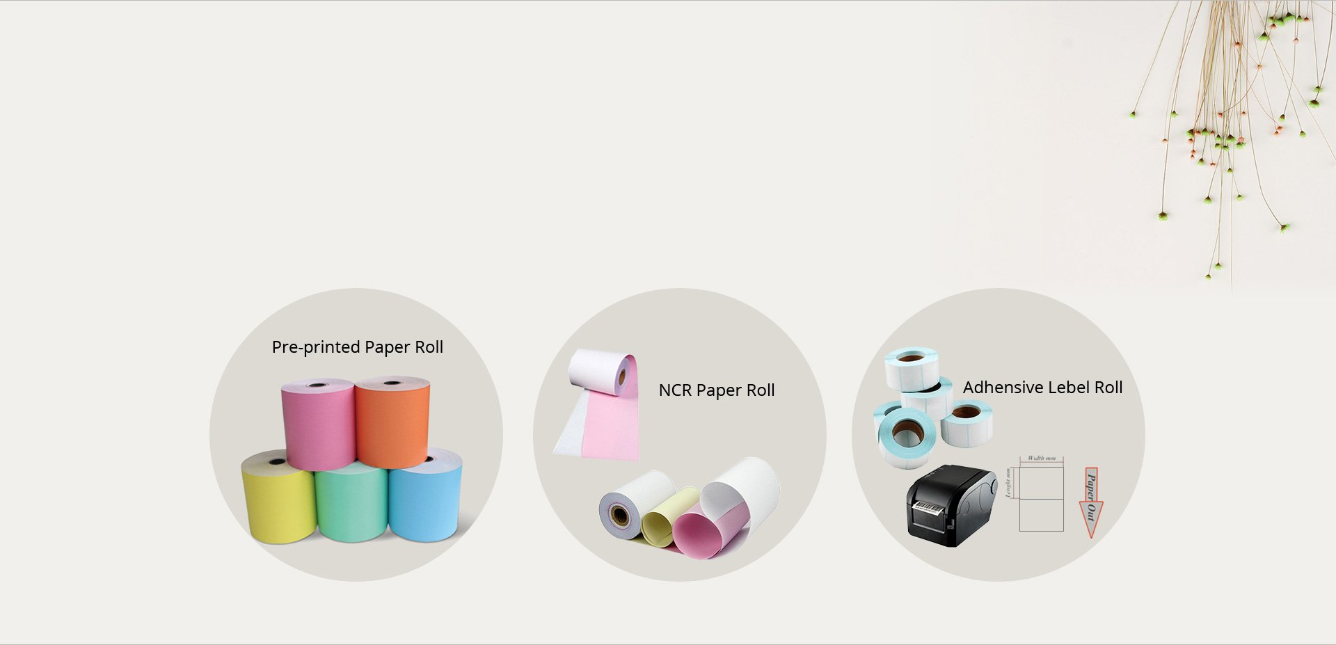 NCR Paper Roll